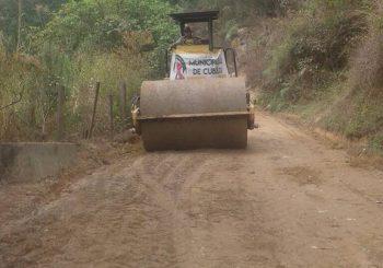Mejoramiento de carretera de cumbre de Santa Rosa hasta el área Urbana de Cubulco
