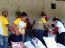 COMUSAN apoyan en beneficio de la Niñez con desnutrición, Adulto Mayor y Mujeres Embarazadas