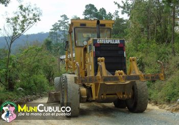 Reunión con los comunitarios de Chuachacalté 1 y Pahoj, esto previo al mejoramiento de carretera con Balasto,